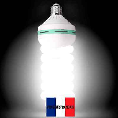 FR MAXI LUMINOSITÉ 2x Lampes Studio Photo 175W E27 Équivalent 800 Watts