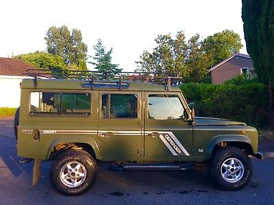 1993 Land Rover Defender  1993 Land Rover Defender 110 County CSW 200tdi