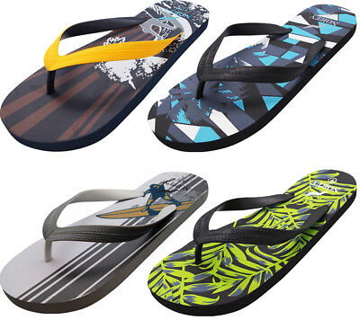 8961d994e Norty Men s Graphic Print Flip Flop Thong Sandal for Beach