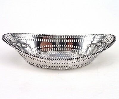 Silver Bowl Victorian 1895 Hallmarked Sterling By James Dixon & Sons Ltd