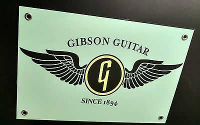 Gibson les paul guitar sign