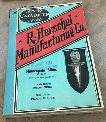1939 - R. Herschel Manufacturing Co. Catalog Farm Implements - Tools - 408 Pages