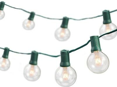 Newhouse Lighting 25 Ft. Weatherproof Party String Lights, Green