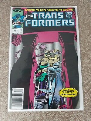 Marvel, The Transformers #46-47, 1984, VF/NM Condition