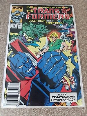 Marvel, The Transformers: Decepticon Fights Decepticon #49, 1985, VF/NM