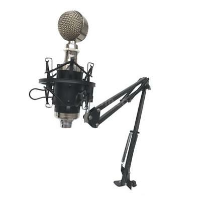 Foldble Microphone Suspension Boom Arm Desktop Mount Stand Wall Hanging Holder