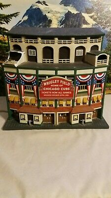 2001 Depatment 56 Light Up Wrigley Field Christmas In The City READ