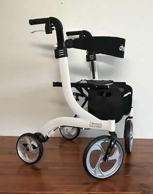 White Drive Medical RTL10266WT Nitro Euro Style Walker Rollator
