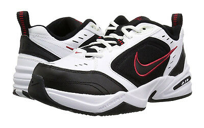 Nike Air Monarch IV Black, White Mens Training Sneakers Shoes Wide 4E 416355 101