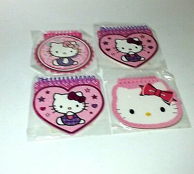 SALE Hello Kitty Sanrio Cat Character Memo Note Pad School Supply Notebook 4 Pad