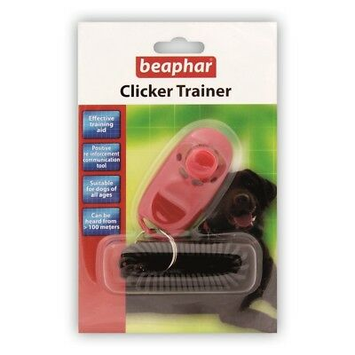 BEAPHAR CLICKER TRAINER - Puppy Dog Obedience Training Aid For Dogs
