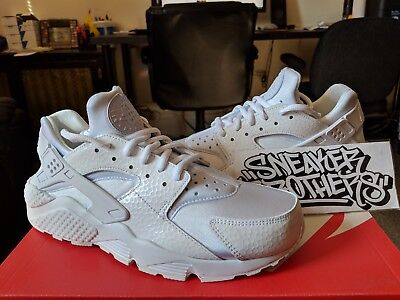 59951eff1292 Nike W Air Huarache Women s Run PRM Triple White Running Training 683818-100