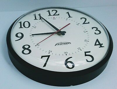 "Primex 12.5"" Wireless Synchronized Wall Clock"