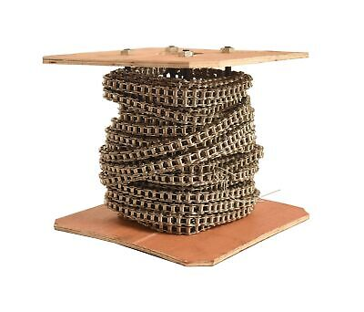 60 SS Stainless Steel Roller Chain 50 Feet with 5 Connecting Link