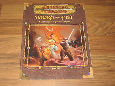 D&D 3.5 Sword And Fist Wotc 51995 englisch Accessory 2001 Softcover