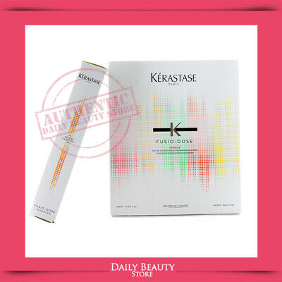Kerastase Fusio Dose K Homelab Nutrition Booster 6ml 0.20oz x 4 Tubes NEW FAST S