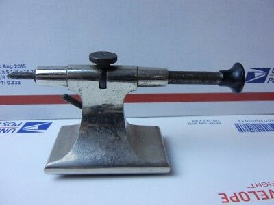 Boley Watchmaker Precision Lathe  tailstock with dead center insert