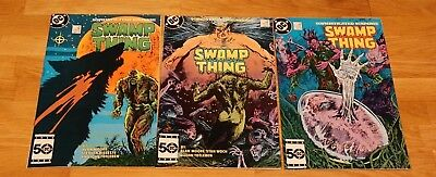SWAMP THING #38, 39, 40 (DC 1985-87) NM- Alan Moore , Constantine app