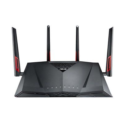 ASUS RT-AC88U 2.4G & 5G Dual-Band Gigabit Wireless Router with 4 Aerials EY