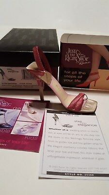 Just The Right Shoe Unforgettable NIB