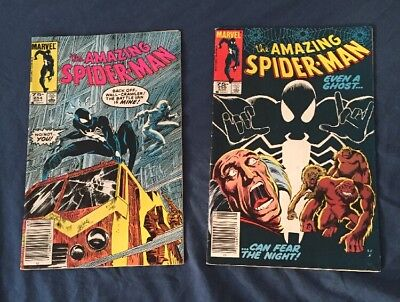 Amazing Spiderman 254-255 Canadian Price Variant Rare, Mid To Upper Grade
