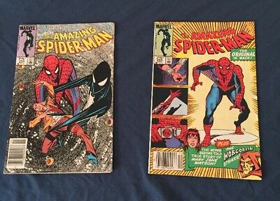 amazing spiderman 258-259 Rare Canadian Price Variant VF