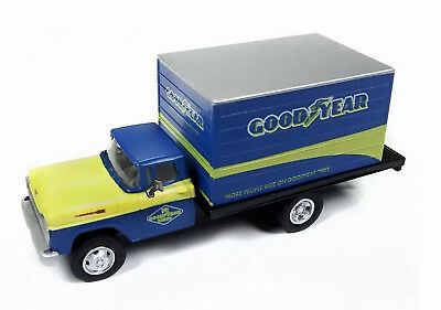 Classic Metal Works HO 30511 1960 Ford Box Truck, Goodyear Tires, New