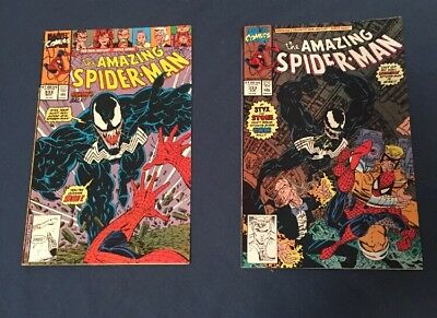 Amazing Spiderman 332-333 Venom Higher Grade