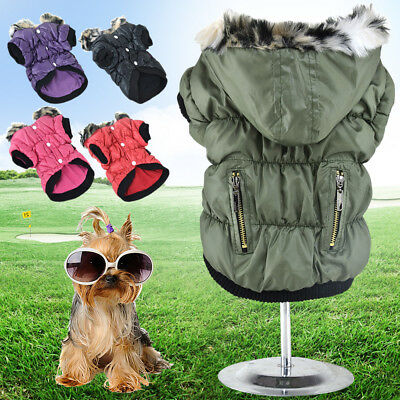 Stylish Winter Hoodie Clothes Jacket Puppy Cat New Sweater Apparel Pet Coat Dog
