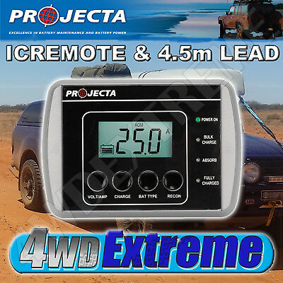 Projecta Icremote & Lead Suit Ic1500 Ic2500 Ic5000 Chargers Icremote Iclead