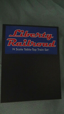 "Micro Trains N Scale Liberty Rairoad Train Set ""Special Edition"" New In Box"