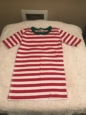 Hanna Andersson Size 150- US Size 12 Stripped Christmas Pajama Top