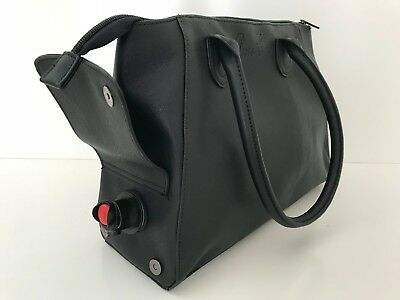 Wine Bottle Insulated Cooler Bag Tote Carrier Purse Handbag