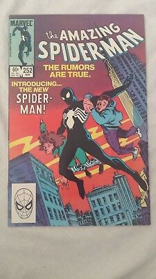 Marvel Amazing Spider-Man #252 NEAR MINT NM 1984 - Black suit Spidey Venom