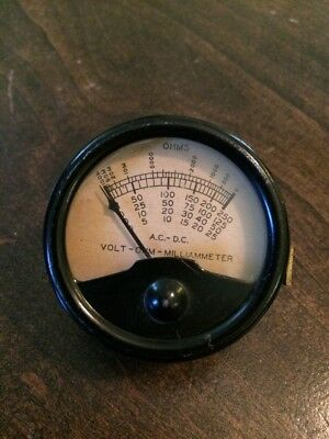 Vintage Voltage - Ohm - Milliameter panel meter