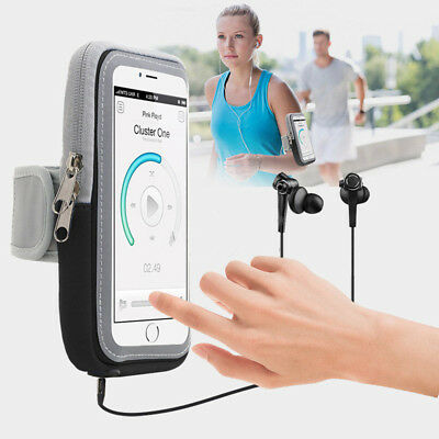 Sport Running Jogging Gym Mobile Phone Touch Screen Arm Band Holder Case Bag New