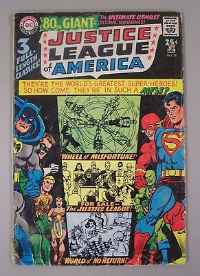 Justice League of America #58(NOV/DEC 1967) Despero! Wonder Woman DC Silver Age!