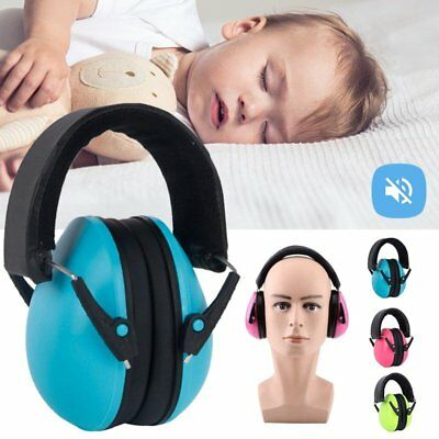 Noise Cancelling Sound Ear Muffs Hearing Protection Earmuffs Baby Kids Child US