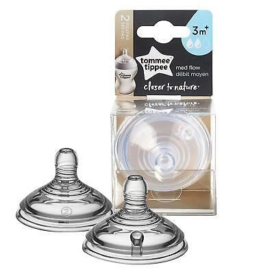 Tommee Tippee Closer To Nature Nipple, 2 Count