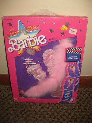 "NIB Mattel 1988 Super Star Barbie Fashions ""Movie Star"" Outfit"