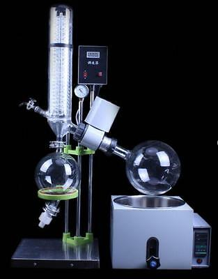 2L Rotary Evaporator Rotavapor Lab equipment RE201D 110/220V t