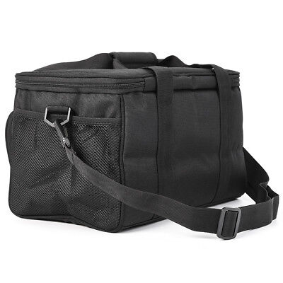 Waterpoof Large Insulated Carp Fishing Tackle Black Holdall Carryall Bag