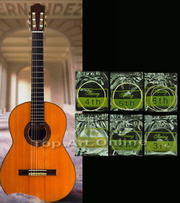 Set 6pcs Nylon Strings for Classical Classic Guitar 1 Meter 2 Colors