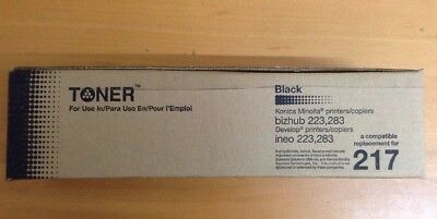Bizhub Compatible 223/283 Black Toner