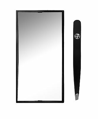 W7 Tweak It Magnifying Mirror and Tweezers Set to Maintain Curved Eyebrows