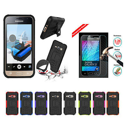 Shockproof Armor Heavy Duty Rugged Hybrid Case Cover Protector For Samsung Phone