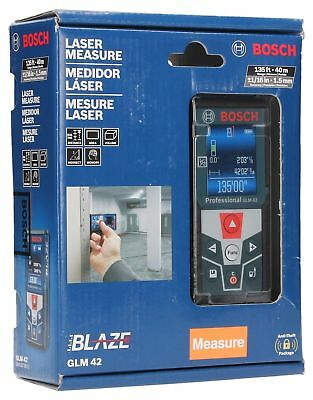 Bosch BLAZE GLM 42 135 ft. Laser Measure with Full-Color Display