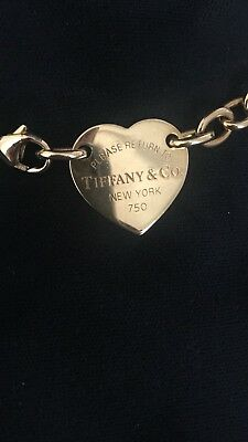 Tiffany & Co. Return To Tiffany Herz Halskette Collier 750 Gold
