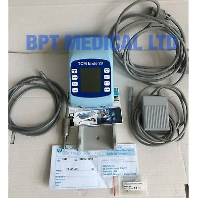 Nouvag Tcm Endo 20 Endo Rotary System For Root Canal Application + Accessories