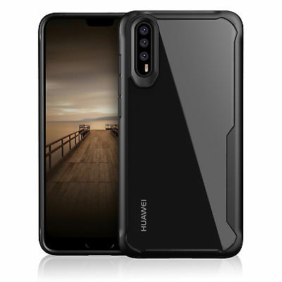 For Huawei P20 Pro Lite Hybrid Luxury Shockproof Protective Silicone Case Cover